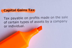 Capital Gains Tax | New Estate Tax Exemption